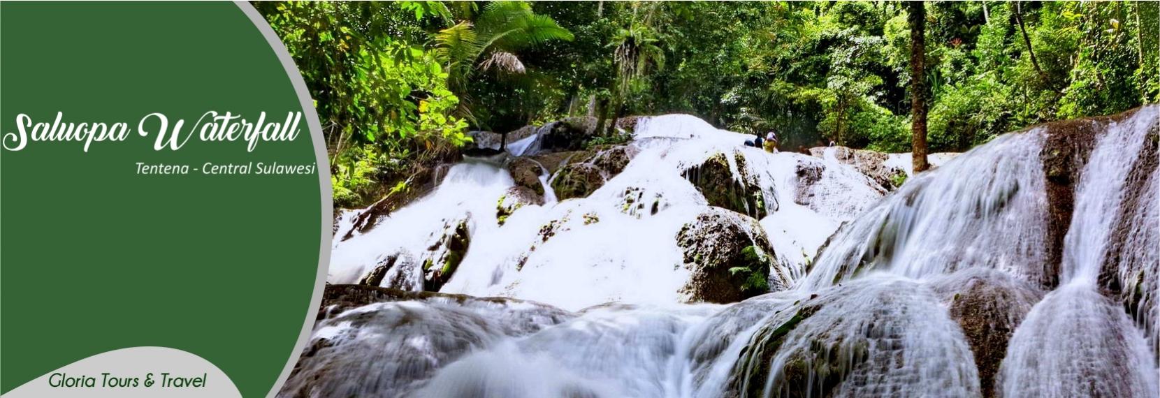 Saluopa Waterfall Centarl Sulawesi- Tentena